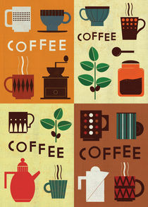 'Retro Coffee Series 2012' von Benjamin Bay