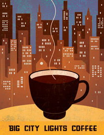 'Manhattan Coffee III' von Benjamin Bay