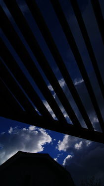 Abstract September Sky by Emily Scott