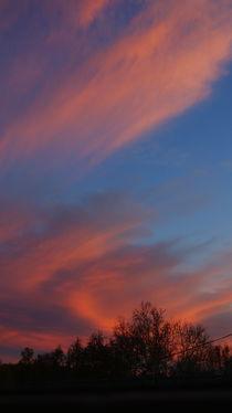 Candy floss clouds von Emily Scott