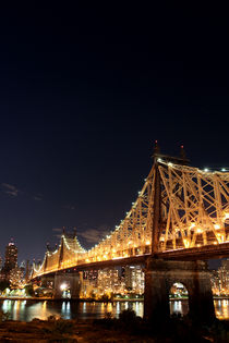 Queensborough Bridge II, New York von winterimages