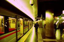 Underground Metro Station @ Vienna by marga-sol