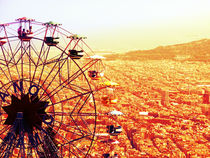 Tibidabo Panorama - Barcelona, Spain by marga-sol