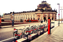 Berlin Museum island and bikes von marga-sol