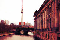 Alexanderplatz, Berlin from the riverside von marga-sol