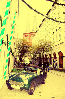 Old Trabant at the corner... von marga-sol