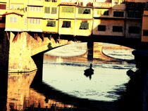 In the Waters of Ponte Vecchio bridge - Firenze von marga-sol