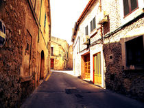 On the streets of Polenca, Majorca von marga-sol
