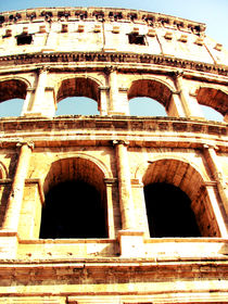 Roman Colosseum in roman color by marga-sol