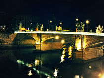 Roma bridge at night von marga-sol