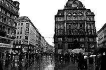 Vienna City Centar - black & white 2 von marga-sol