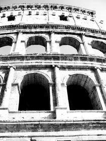 Roman Colosseum in black & white by marga-sol