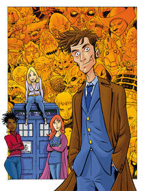 Doctor Who by Gianluca Maconi