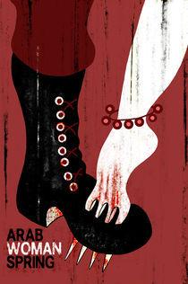 ARAB WOMAN SPRING von danawi