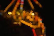 fun fair at night by Andreas Müller