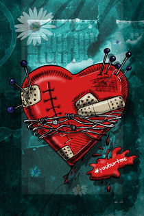Hurt Heart by Adriana Schiavon