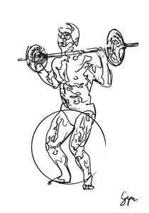 BARBELL SQUAT  by gymo