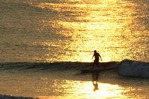 Lone surfer von Kristin Scott