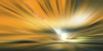 Hot golden light paint. by Bernd Vagt