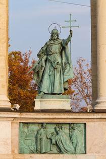 Szent Istvan sculpture von Evren Kalinbacak