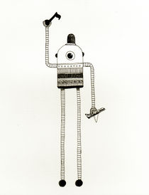 robot von Mariana Beldi