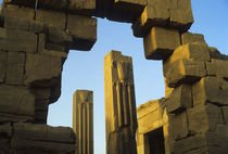 Temple of Karnak In Evening Light von Wolfgang Kaehler
