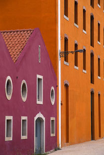 Colorful Buildings by Wolfgang Kaehler