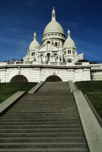 Sacre Coeur Church by Wolfgang Kaehler