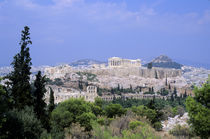 View of Acropolis by Wolfgang Kaehler