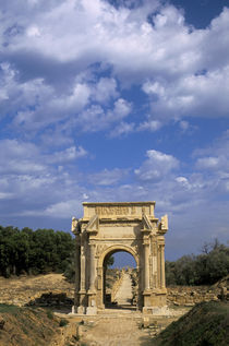 Arch of Septimius Severus by Wolfgang Kaehler