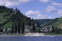 Bacharach with Stahleck Fortress von Wolfgang Kaehler