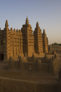 The mosque in Djenne, Mali, a World Heritage Site by Wolfgang Kaehler