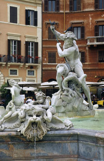 Fountain of Calderari by Wolfgang Kaehler
