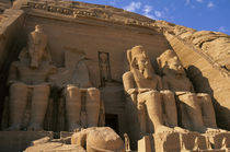 Great Temple of Abu Simbel Four Statues of Ramses Ii von Wolfgang Kaehler