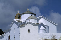 View of Church on Hill by Wolfgang Kaehler