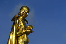 Golden Statue by Wolfgang Kaehler