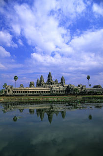 Angkor Wat Reflecting In Pond by Wolfgang Kaehler