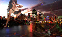 city lights by Nadya Sivkova