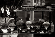 Shaving Brushes, Paris by Gerry Walden