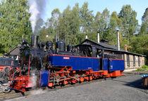 Dampflokomotive by Jörg Hoffmann