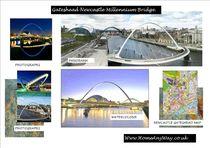 Millennium Bridge, Tyneside von John Mackenzie