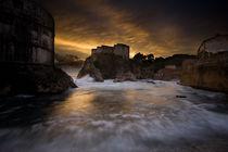 Sun Set in Stone von Daniel Zrno
