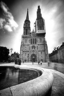 Zagreb Cathedral von Daniel Zrno