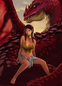 Dragon Lover by dedefox