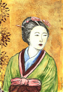 'Japanese Woman' von Pegeen Shean