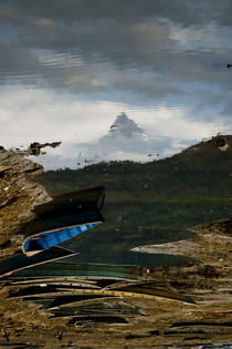 the mountain under.. by astha
