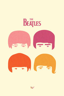 Minimal Beatles by Jonathan Vizcuña