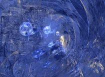 Blue spheres von Eleonora Perli