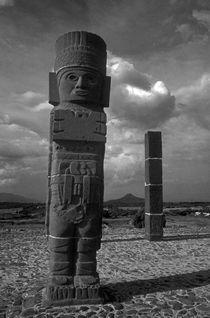 TOLTEC WARRIOR Tula Mexico by John Mitchell