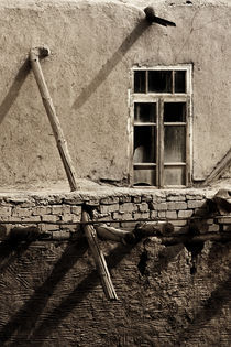 The old broken window  von Diana Kartasheva